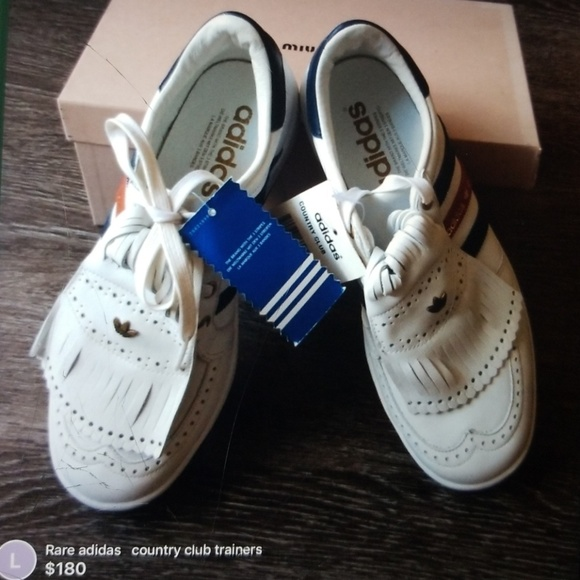 low priced 83c71 51d60 NEW and Rare Adidas country club trainers